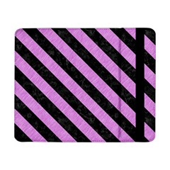 Stripes3 Black Marble & Purple Colored Pencil Samsung Galaxy Tab Pro 8 4  Flip Case by trendistuff