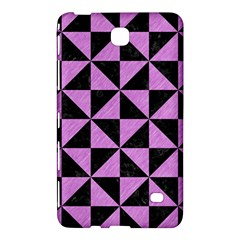 Triangle1 Black Marble & Purple Colored Pencil Samsung Galaxy Tab 4 (8 ) Hardshell Case  by trendistuff