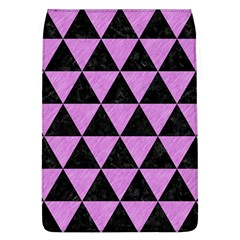 Triangle3 Black Marble & Purple Colored Pencil Flap Covers (l)  by trendistuff