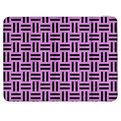 Woven1 Black Marble & Purple Colored Pencil Samsung Galaxy Tab 7  P1000 Flip Case by trendistuff