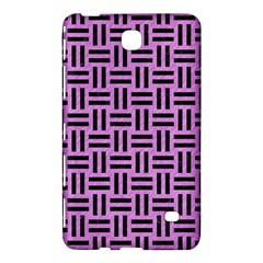 Woven1 Black Marble & Purple Colored Pencil Samsung Galaxy Tab 4 (7 ) Hardshell Case  by trendistuff