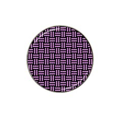 Woven1 Black Marble & Purple Colored Pencil (r) Hat Clip Ball Marker (4 Pack) by trendistuff