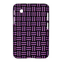 Woven1 Black Marble & Purple Colored Pencil (r) Samsung Galaxy Tab 2 (7 ) P3100 Hardshell Case  by trendistuff