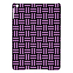 Woven1 Black Marble & Purple Colored Pencil (r) Ipad Air Hardshell Cases by trendistuff