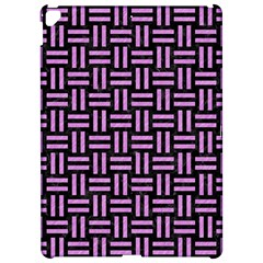 Woven1 Black Marble & Purple Colored Pencil (r) Apple Ipad Pro 12 9   Hardshell Case by trendistuff