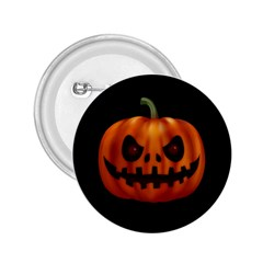 Halloween Pumpkin 2 25  Buttons by Valentinaart