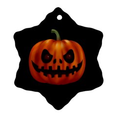 Halloween Pumpkin Ornament (snowflake)