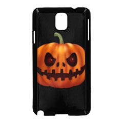 Halloween Pumpkin Samsung Galaxy Note 3 Neo Hardshell Case (black)