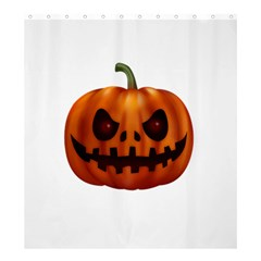 Halloween Pumpkin Shower Curtain 66  X 72  (large)