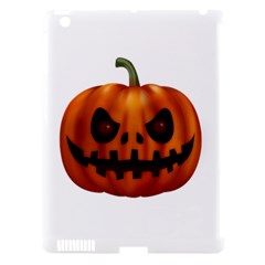 Halloween Pumpkin Apple Ipad 3/4 Hardshell Case (compatible With Smart Cover)