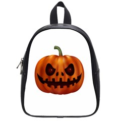Halloween Pumpkin School Bag (small) by Valentinaart