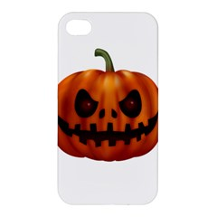 Halloween Pumpkin Apple Iphone 4/4s Premium Hardshell Case