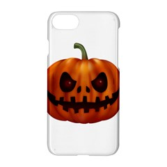 Halloween Pumpkin Apple Iphone 7 Hardshell Case by Valentinaart