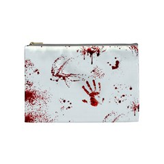 Massacre  Cosmetic Bag (medium)  by Valentinaart