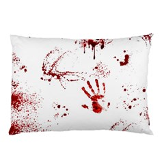 Massacre  Pillow Case (two Sides) by Valentinaart