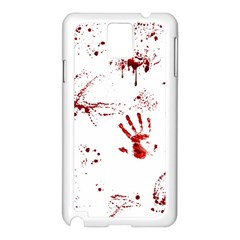 Massacre  Samsung Galaxy Note 3 N9005 Case (white) by Valentinaart