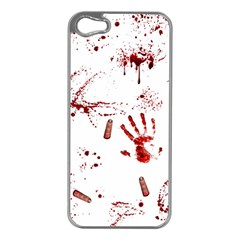 Massacre  Apple Iphone 5 Case (silver) by Valentinaart