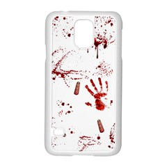 Massacre  Samsung Galaxy S5 Case (white) by Valentinaart