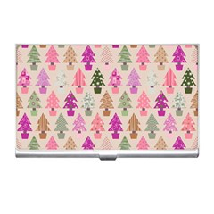 Christmas Tree Pattern Business Card Holders by Valentinaart