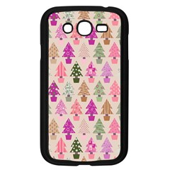 Christmas Tree Pattern Samsung Galaxy Grand Duos I9082 Case (black) by Valentinaart