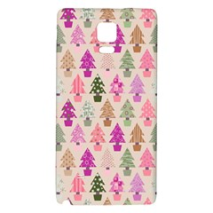Christmas Tree Pattern Galaxy Note 4 Back Case