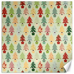 Christmas Tree Pattern Canvas 20  X 20   by Valentinaart