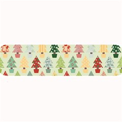 Christmas Tree Pattern Large Bar Mats by Valentinaart