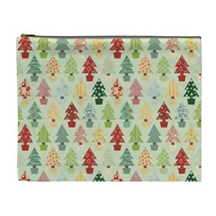 Christmas Tree Pattern Cosmetic Bag (xl)