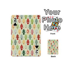 Christmas Tree Pattern Playing Cards 54 (mini)