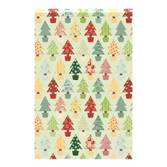 Christmas Tree Pattern Shower Curtain 48  X 72  (small)  by Valentinaart