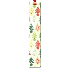 Christmas Tree Pattern Large Book Marks by Valentinaart