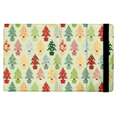 Christmas Tree Pattern Apple Ipad Pro 9 7   Flip Case by Valentinaart