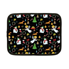 Christmas Pattern Netbook Case (small)  by Valentinaart