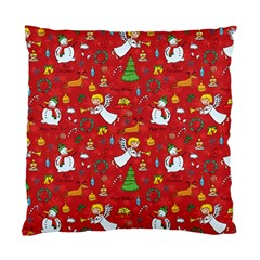 Christmas Pattern Standard Cushion Case (two Sides) by Valentinaart