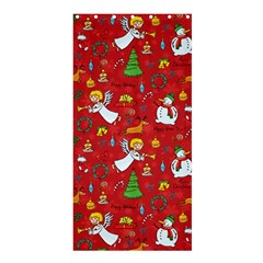 Christmas Pattern Shower Curtain 36  X 72  (stall)  by Valentinaart