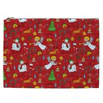 Christmas pattern Cosmetic Bag (XXL)  Front