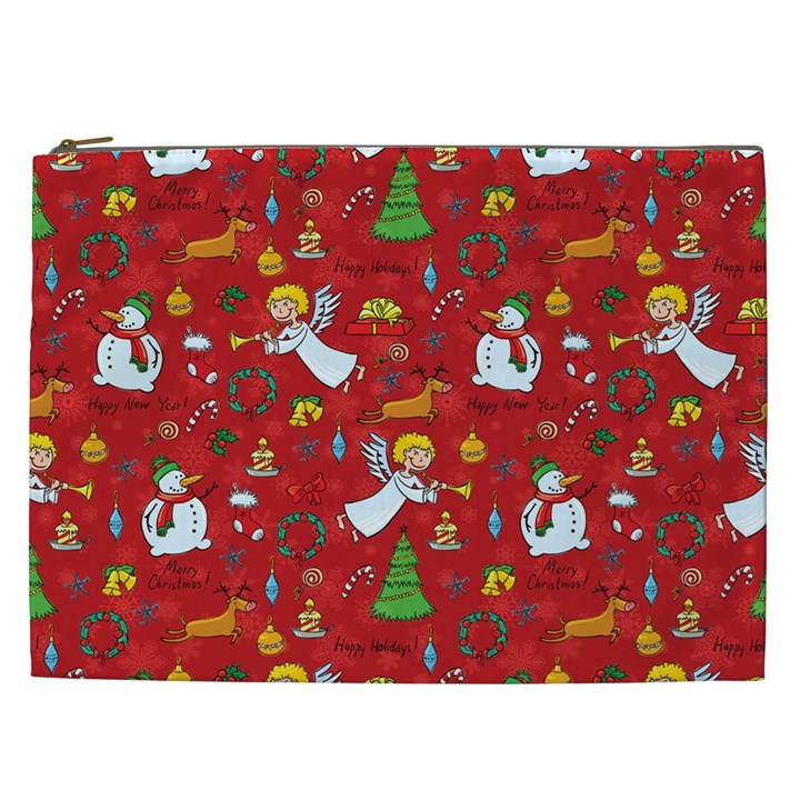 Christmas pattern Cosmetic Bag (XXL)