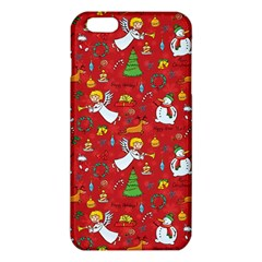 Christmas Pattern Iphone 6 Plus/6s Plus Tpu Case by Valentinaart
