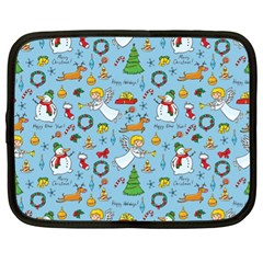 Christmas Pattern Netbook Case (xl)
