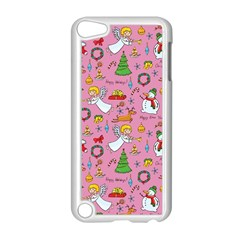 Christmas Pattern Apple Ipod Touch 5 Case (white) by Valentinaart