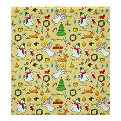 Christmas Pattern Shower Curtain 66  X 72  (large)  by Valentinaart
