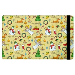 Christmas Pattern Apple Ipad 3/4 Flip Case by Valentinaart