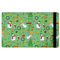 Christmas Pattern Apple Ipad 3/4 Flip Case