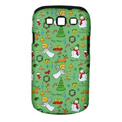 Christmas Pattern Samsung Galaxy S Iii Classic Hardshell Case (pc+silicone) by Valentinaart