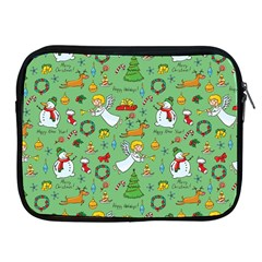 Christmas Pattern Apple Ipad 2/3/4 Zipper Cases by Valentinaart