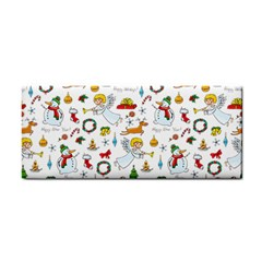 Christmas Pattern Cosmetic Storage Cases by Valentinaart