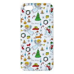 Christmas Pattern Iphone 5s/ Se Premium Hardshell Case