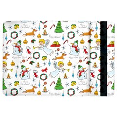 Christmas Pattern Ipad Air 2 Flip by Valentinaart