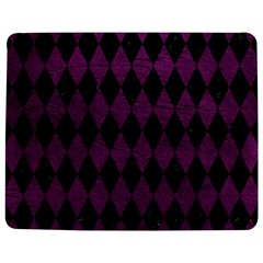 Diamond1 Black Marble & Purple Leather Jigsaw Puzzle Photo Stand (rectangular) by trendistuff