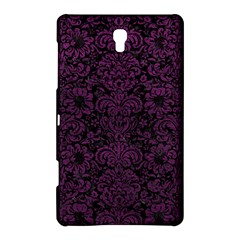 Damask2 Black Marble & Purple Leather (r) Samsung Galaxy Tab S (8 4 ) Hardshell Case  by trendistuff